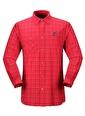 Panthzer  Mojanda Erkek Gömlek Kırmızı Kırmızı